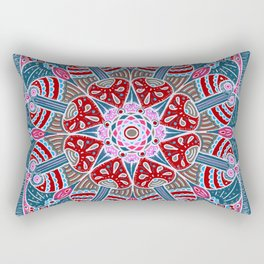 Holiday Doodles & Bits Rectangular Pillow