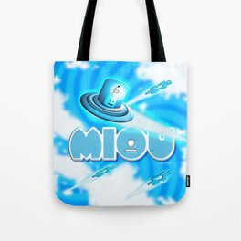 Miou in Blue! Tote Bag