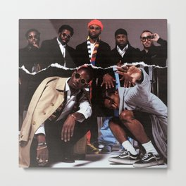 Asap Mob Cozy A AP Rocky Ferg Nast album cover celebrity art canvas poster high quality printing in various sizes Metal Print