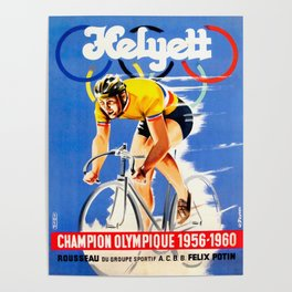 Yellow Jersey Poster