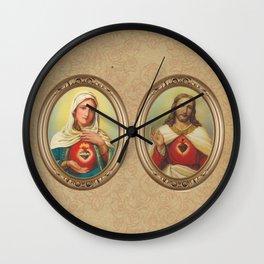 Sagrados Corazones Wall Clock