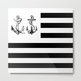 Anchor Nation Metal Print