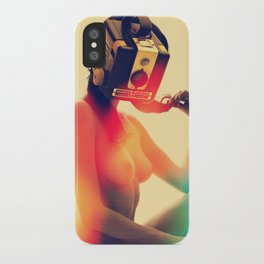SEX ON TV - LUNAR by ZZGLAM iPhone Case