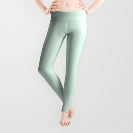 Honeydew Solid Color Block Leggings