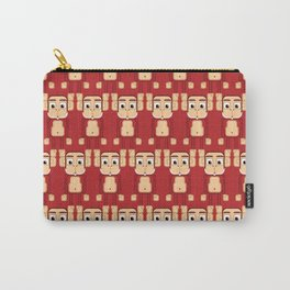 Super cute animals - Cheeky Red Monkey Carry-All Pouch