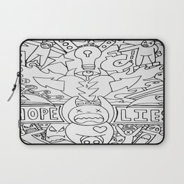Hope and Lies Laptop Sleeve