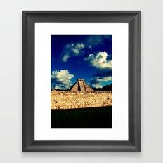 El Castillo Framed Art Print
