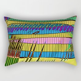 LIVING in MARS / Building 06-07-16 Rectangular Pillow