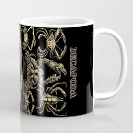"""""""Decapoda"""" from """"Art Forms of Nature"""" by Ernst Haeckel Coffee Mug"""