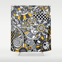 Zander Shower Curtain