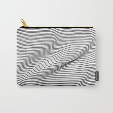 Minimal Curves Carry-All Pouch