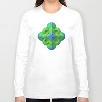 deco Long Sleeve T-shirts featuring Doing Deco by Lyle Hatch