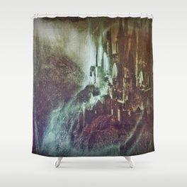Dark Castle Shower Curtain
