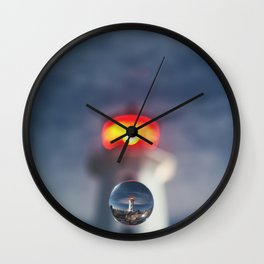 Drop of Glass Wall Clock