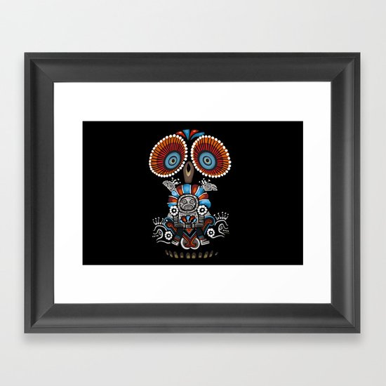 Mexican Owl Framed Art Print