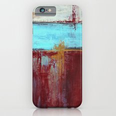 Commandment - Textured Abstract Painting iPhone 6s Slim Case