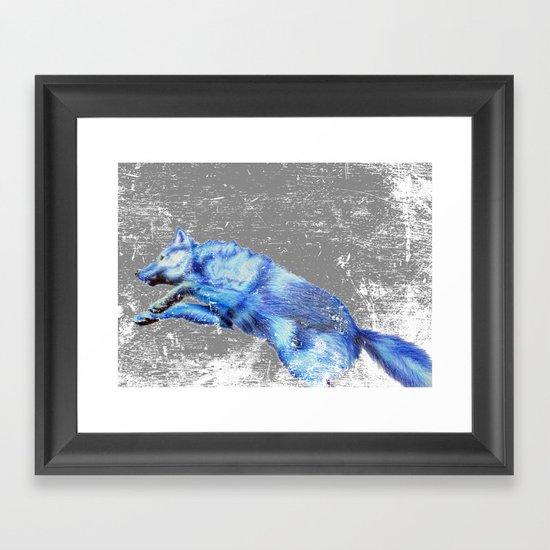 Wolf Pack Sans Pack Framed Art Print