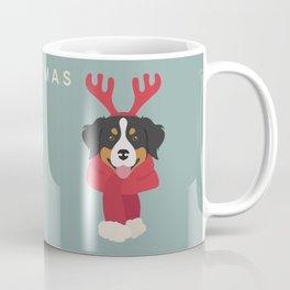 Bernese Mountain Christmas Dog Coffee Mug