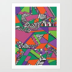 * GAAGII Jangle  Art Print