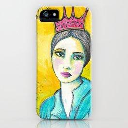 Queen Birdie iPhone Case