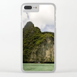 Koh Phi Phi Clear iPhone Case