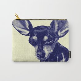 Ziggy (Yellow) Carry-All Pouch
