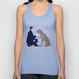Me and you in a relationship Unisex Tank Top
