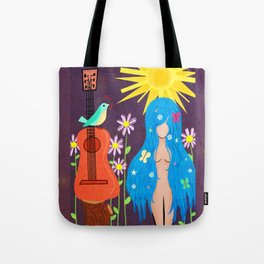 Music Makes Love and Love Makes Music Tote Bag