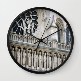 Notre Dame, Paris Wall Clock