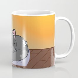 Cat on a roof Coffee Mug