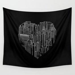Heart Of Manhattan  Wall Tapestry