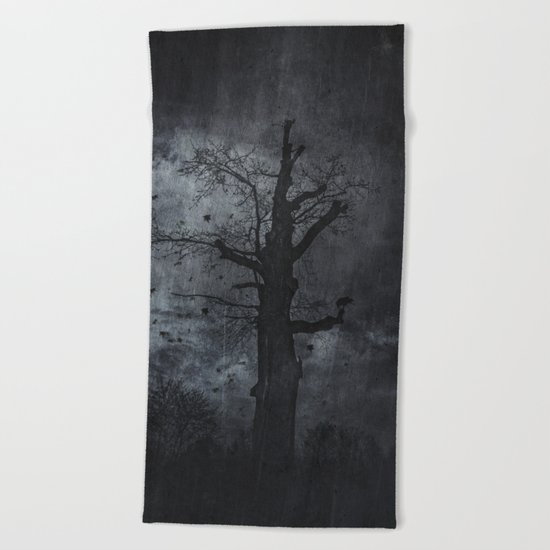 The dirty winter spirit Beach Towel