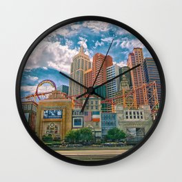 New York New York, Loop-de-Loop Wall Clock