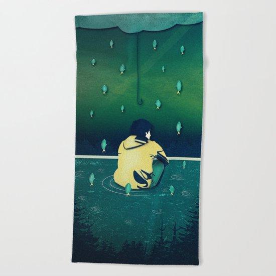 Emotion Sickness Beach Towel