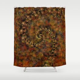 From Infinity - Autumn Shower Curtain