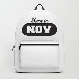 Born in November Backpack