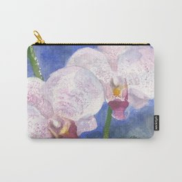 Orchid Gaze Carry-All Pouch