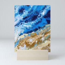 Shorebreak 3 Mini Art Print