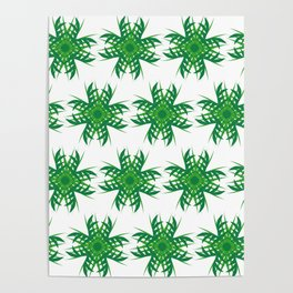 Forest evergreen Poster