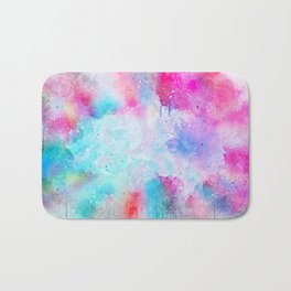 Abstract Background 395 Bath Mat