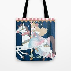 Carousel: Once Upon a Dream Tote Bag