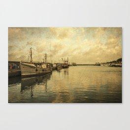 Newlyn Trawlers  Canvas Print