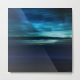 Approved to Dream - Landcape abstract Metal Print
