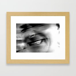 human man Framed Art Print