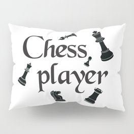Chess player Pillow Sham