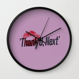 thank u, next #2 Wall Clock