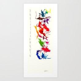 inferred  Art Print