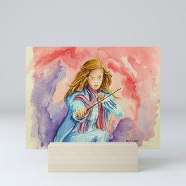 Hermione - A Beautiful Witch. Mini Art Print