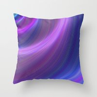 storm Throw Pillows featuring Storm by David Zydd