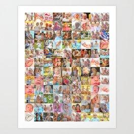 kiddos Art Print